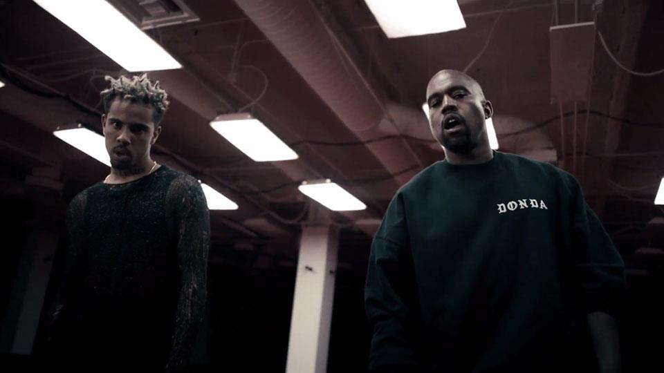 (U Mad music video with Kanye West)
