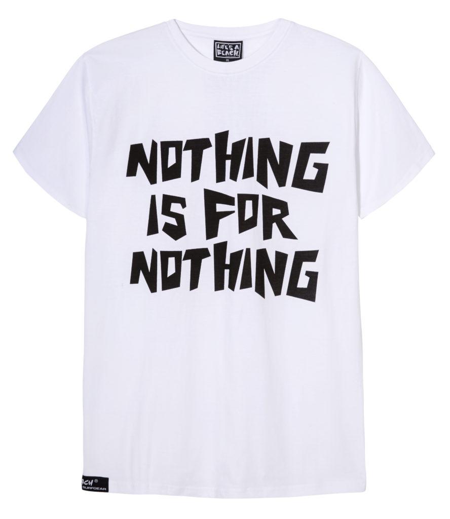 SELFRIDGES reCITED Lifes A Beach x Rejjie Snow white T shirt £30