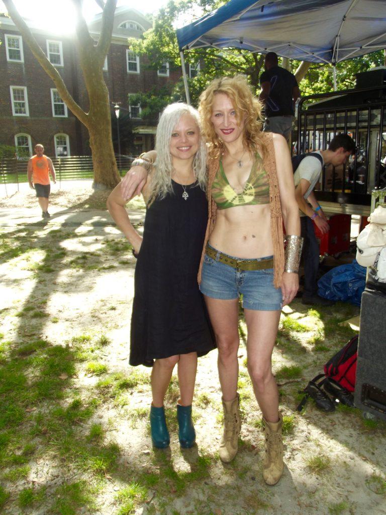 Lezzepplin girls at the Brooklyn Music Festival