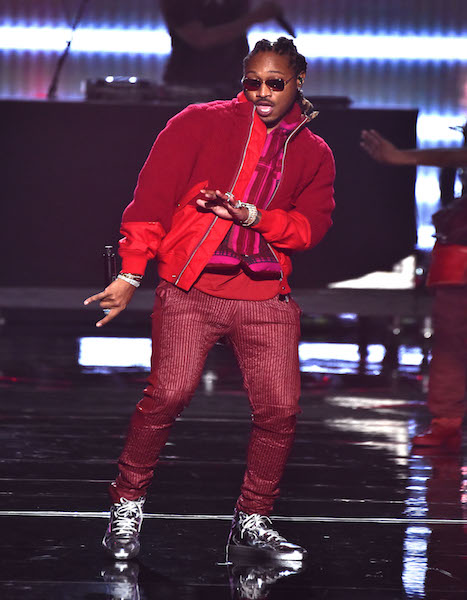NEW YORK, NY - AUGUST 28: Future performs onstage during the 2016 MTV Video Music Awards at Madison Square Garden on August 28, 2016 in New York City. (Photo by Theo Wargo/MTV1617/Getty Images for MTV)