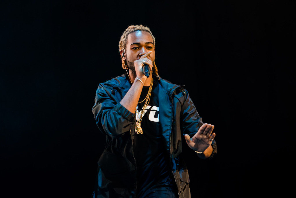 TORONTO, ON - AUGUST 03:  PartyNextDoor performs during 2015 OVO Fest at Molson Canadian Amphitheatre on August 3, 2015 in Toronto, Canada.  (Photo by George Pimentel/Getty Images) Photo courtesy of Stylecaster.com