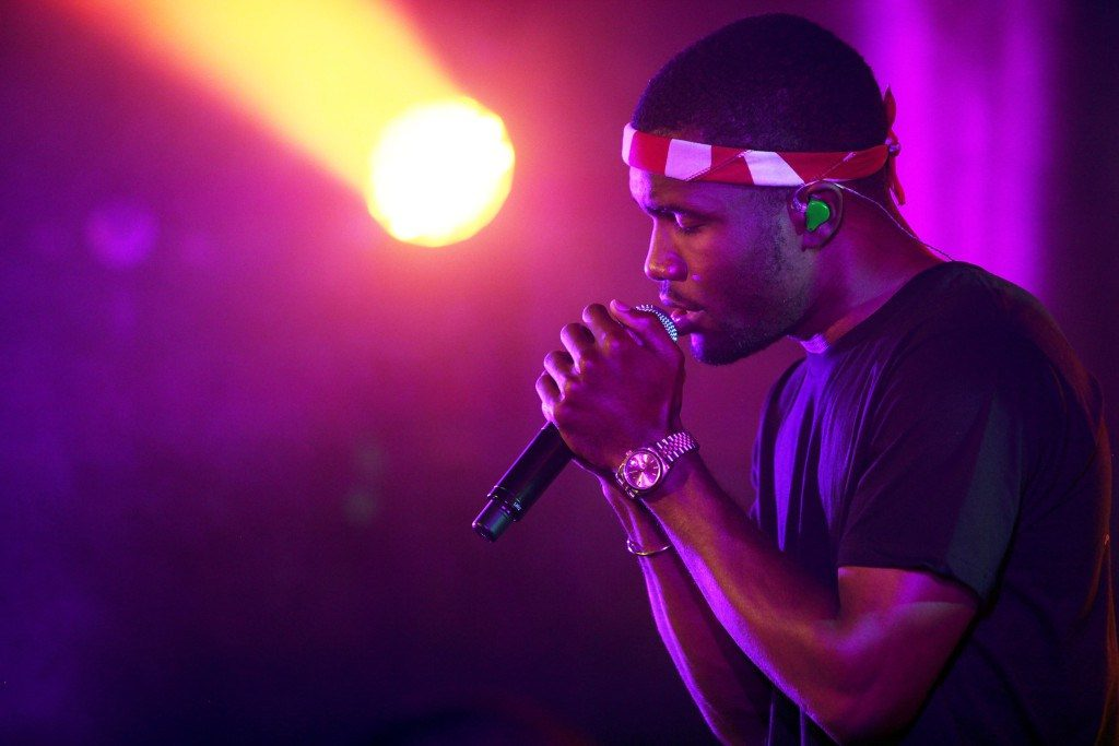NEW YORK, NY – SEPTEMBER 24: Frank Ocean performs onstage at The Angel Orensanz Foundation on September 24, 2012 in New York City. (Photo by Roger Kisby/Getty Images) via heymikeyatl.com