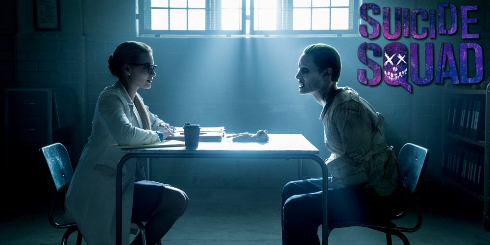 """Margot Robbie as Harley Quinn and Jared Leto as The Joker in """"Suicide Squad."""" Photo courtesy of Screenrant.com"""