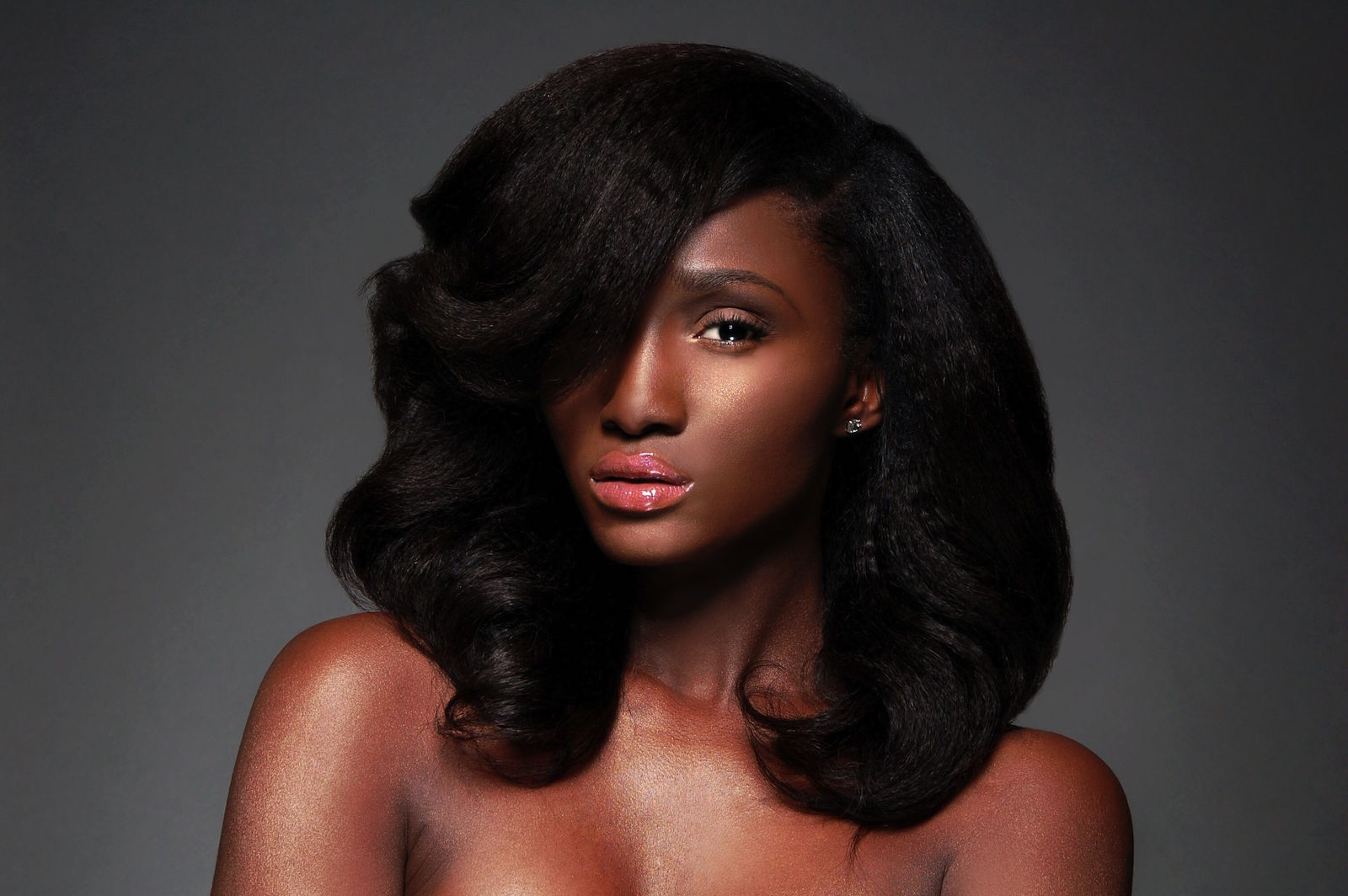 Black Girl Natural Hair Blowout