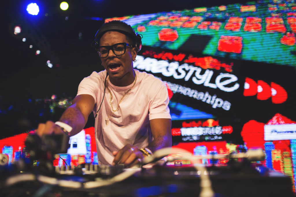 Puffy perfoms during Red Bull Thre3Style World Final in Santiago, Chile on Dec 17th