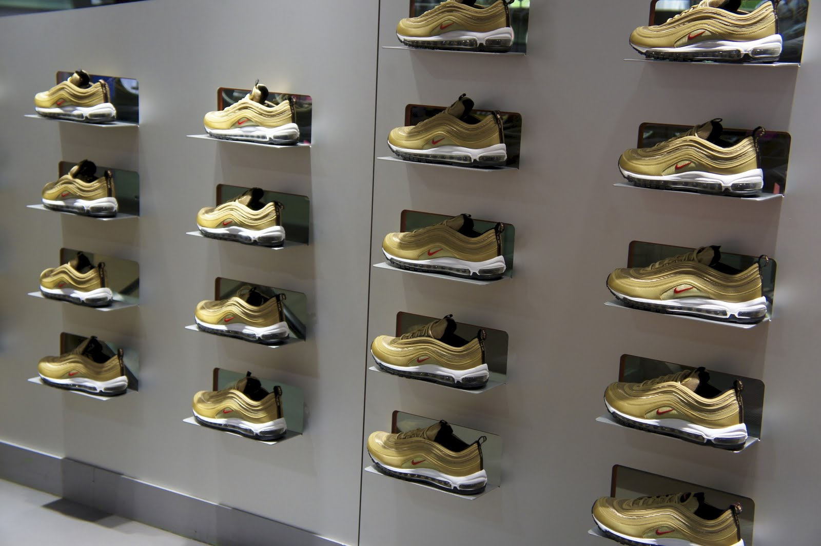 Cheap Nike Air Max 97 Premium 312834 200 Pink Suede Particle