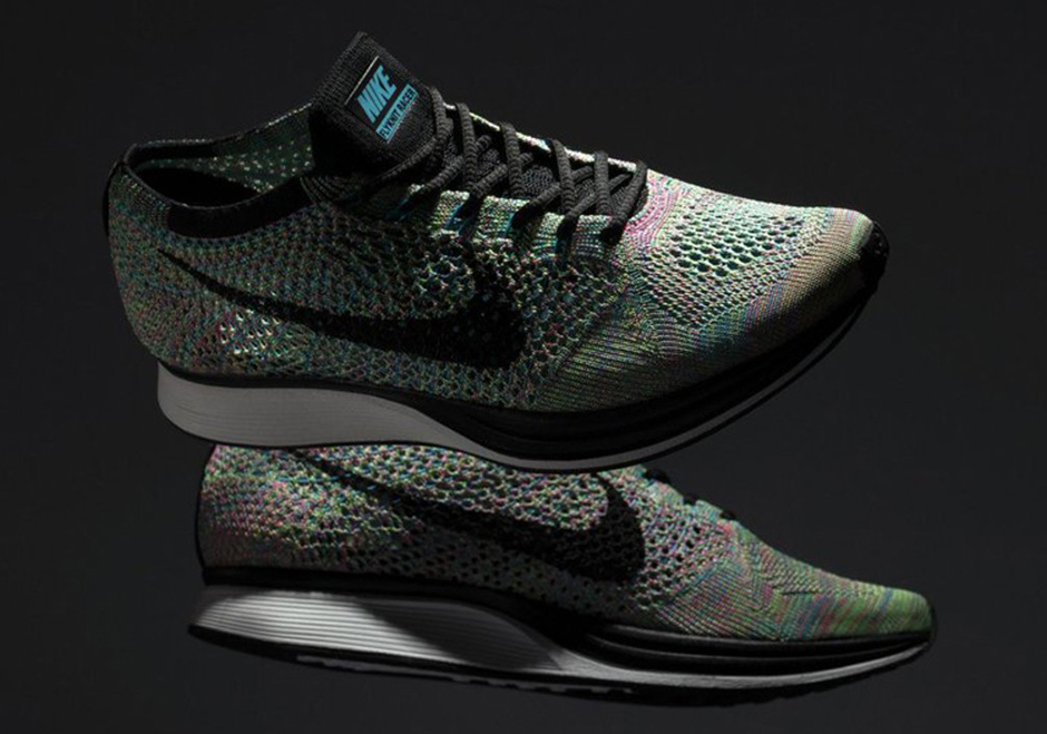 nike is to restock the flyknit racer u201cmulti color 2 0 u201d this week tuc rh tucmag net