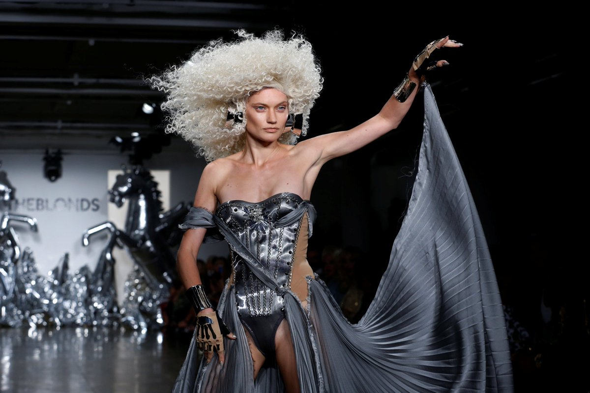 Behind The Seams Meet The Blonds Nyc Fashion Duo Tuc