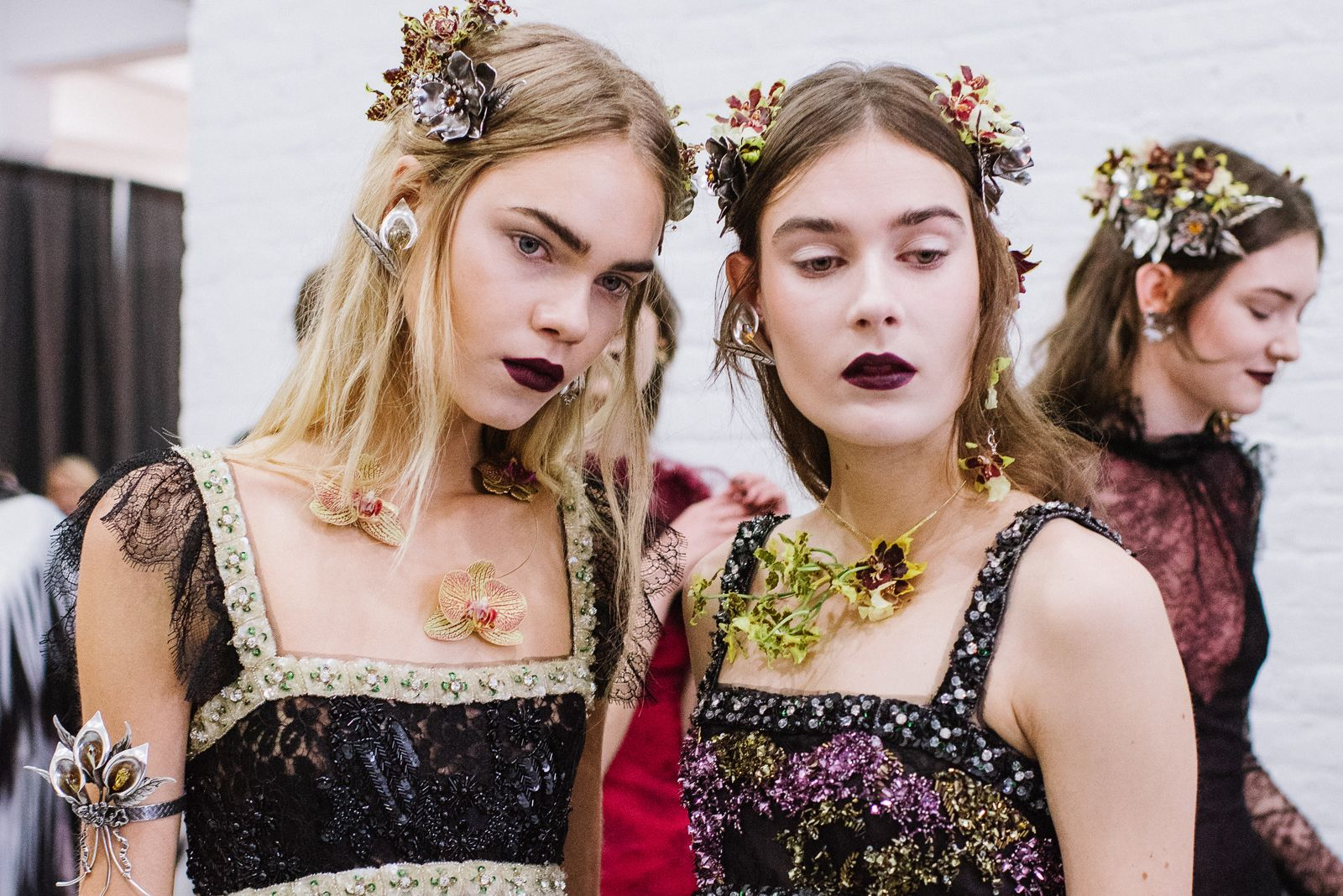How Rodarte Made The Flower Crown More Couture Tuc