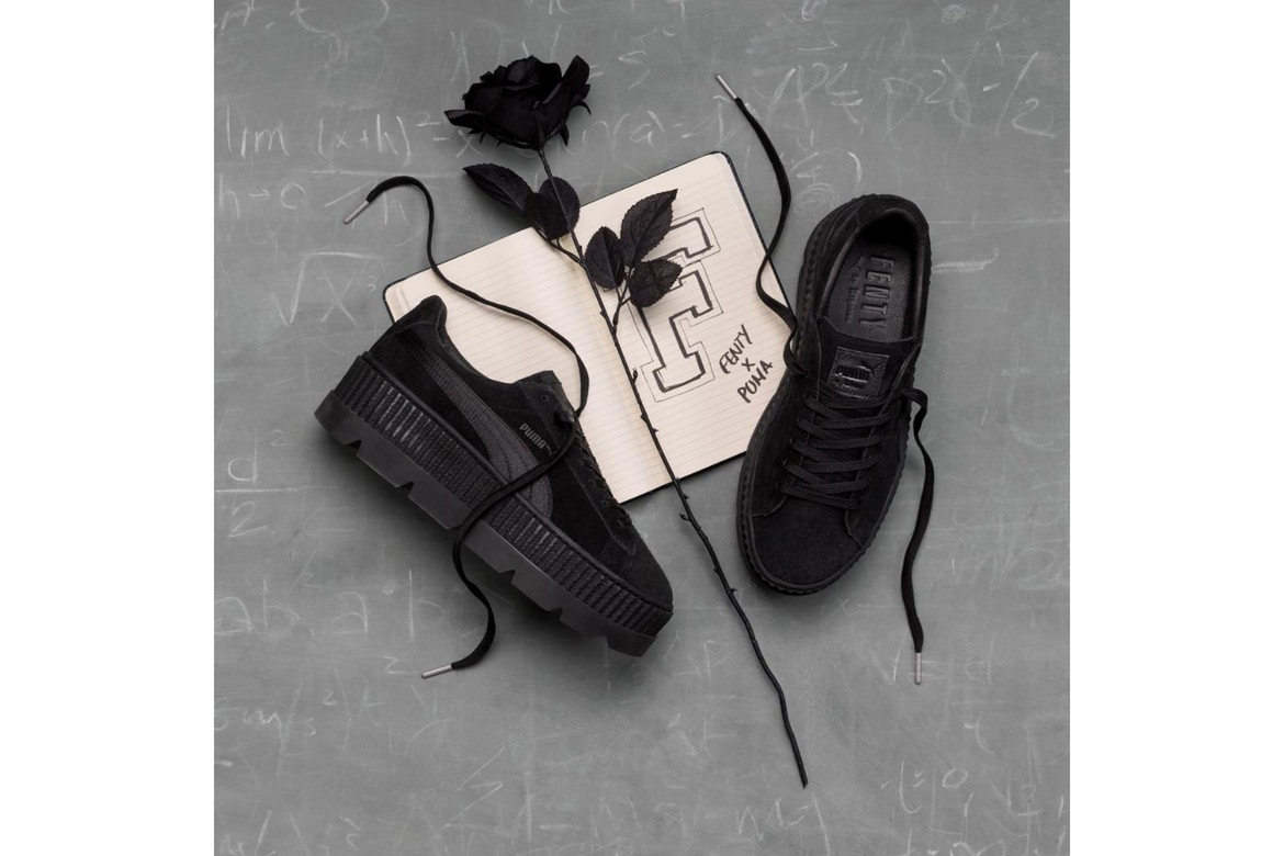 61855f9ee02 Rihanna s Fenty x Puma Suede Creeper To Hit The Market – TUC