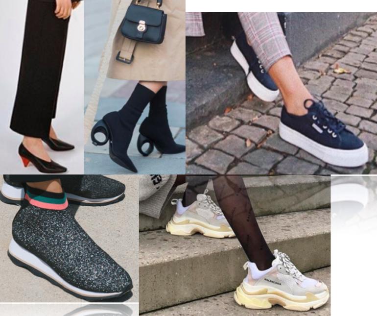 Street Smart: Women's Footwear 2018